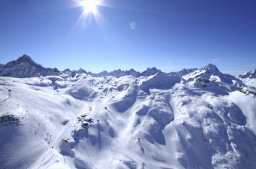 """Sommets des Alpes - Lieu """"Les 2 Alpes"""" - Isère - Hôtel Le Chalet Mounier ***"""
